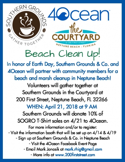 4Ocean Beach Clean Up