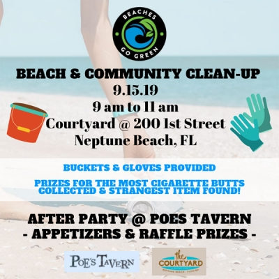 Beaches Go Green Beach & Town Clean-up