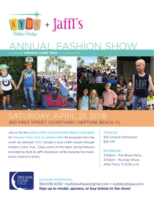 Kyds & Jaffi's Annual Fashion Show Celebration
